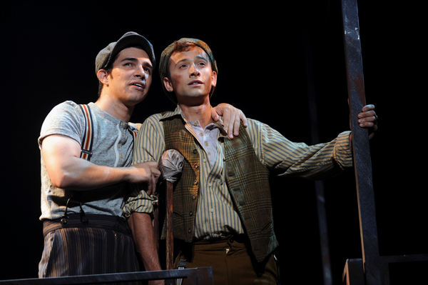 Photo Flash: First Look at Joey Barreiro, Daniel Quadrino and More in NEWSIES at Pittsburgh CLO