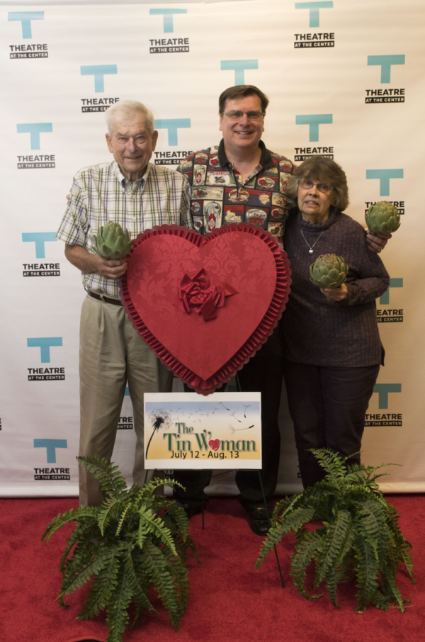Opening Night Red Carpet for THE TIN WOMAN at Theatre at the Center with Phil Potempa Photo