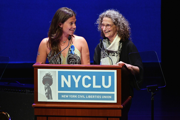 Liana Stampur and Donna Lieberman  Photo