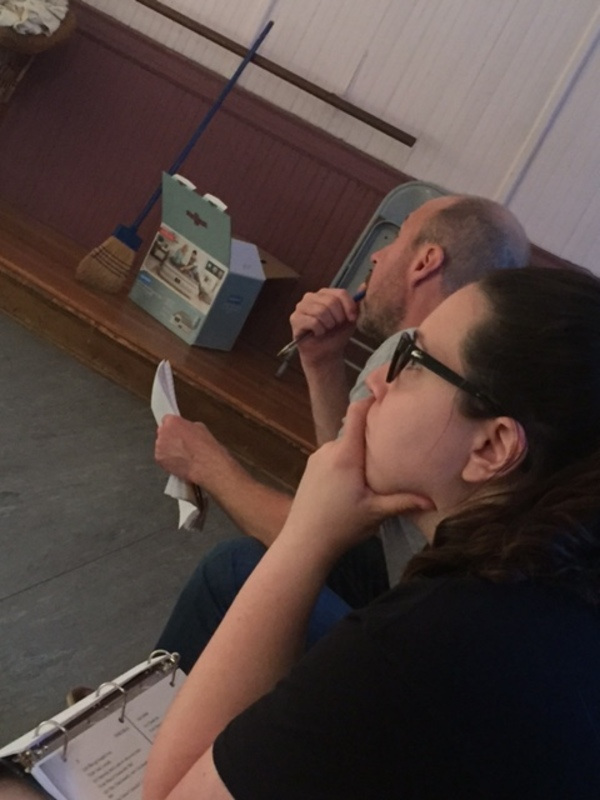 Photo Flash: In Rehearsal for SOME GIRL(S) at Bare Bones Theater Company