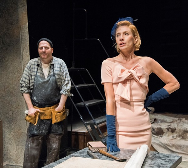 Steven Dykes (Gaukroger), Kathleen Wise (Venables) Photo