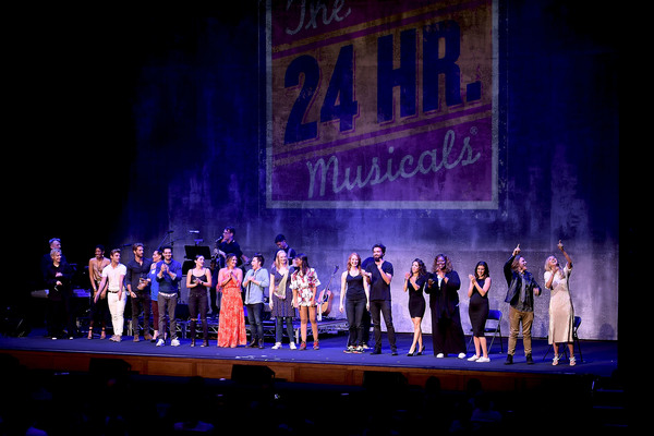 Photo Flash: Shoshana Bean, Jesse Eisenberg and More Light Up the Stage in First Ever 24 HOUR MUSICALS: LOS ANGELES
