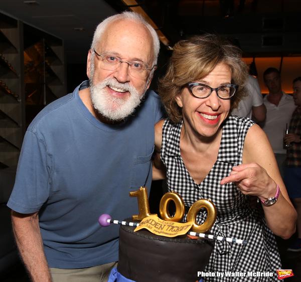 John Rubenstein and Jackie Hoffman