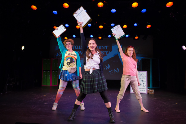 Madison Kauffman, Danielle Davila, and Tiffany Tatreau Photo