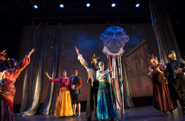Photo Flash: First Look at TEMPLE OF SOULS at NYMF
