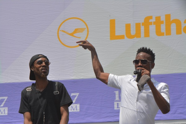 Zaire Park and Billy Porter