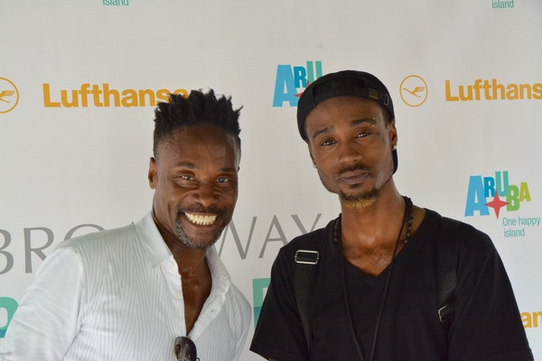 Billy Porter and Zaire Park