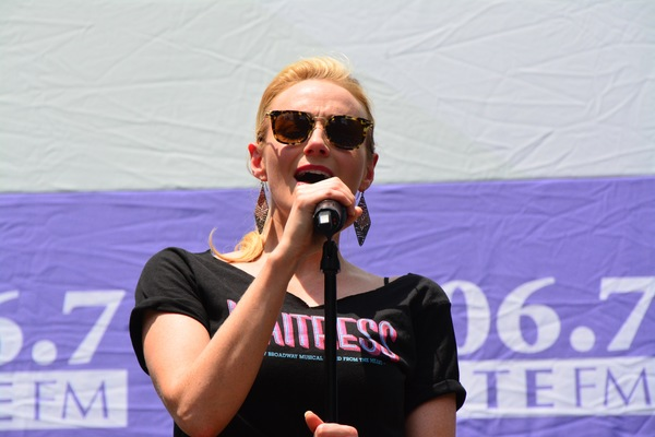 Photo Coverage: The Casts of WAITRESS, CATS, and More at Broadway In Bryant Park