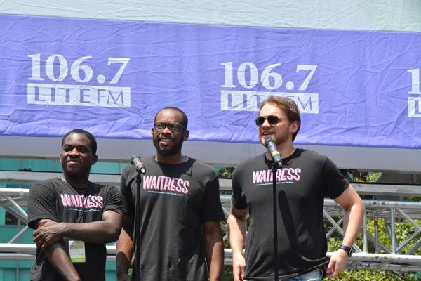 Tyrone Davis, Jr., Law Terrell Dunford and Matt DeAngelis