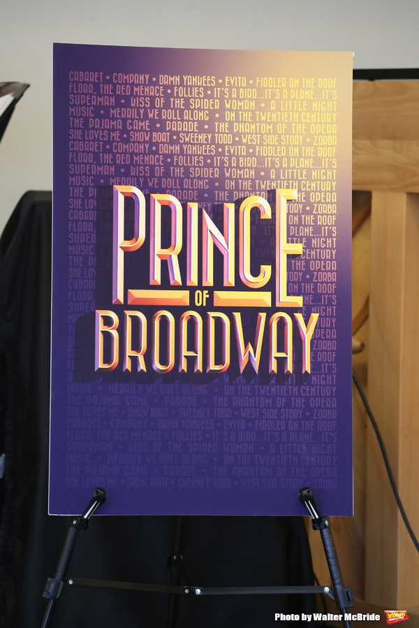 Photo Coverage: Hal Prince Gets a Royal Welcome Back at PRINCE OF BROADWAY Rehearsals!