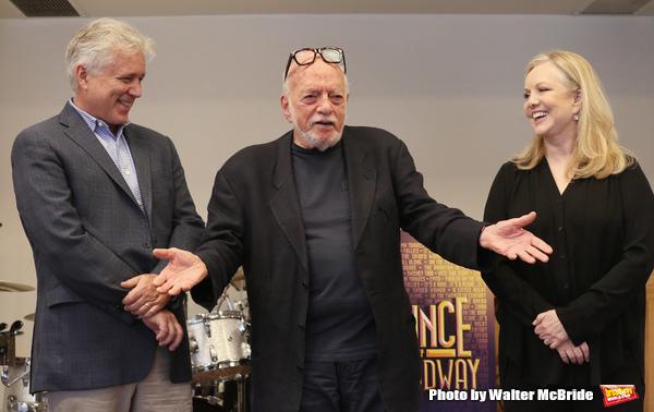 David Thompson, Hal Prince and Susan