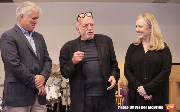 David Thompson, Hal Prince and Susan Stroman