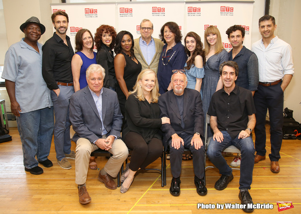 First Row: David Thompson, Susan Stroman, Hal Prince and Jason Robert Brown. Second Row: Chuck Cooper, Michael Xavier, Karen Ziemba, Janet Dacal, Bryonha Marie Parham, Barry Grove, Lynne Meadow, Kaley Ann Voorhees, Emily Skinner, Brandon Uranowitz