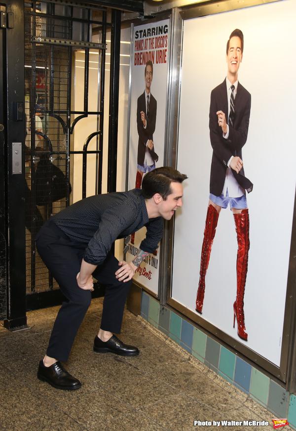Photo Coverage Brendon Urie Struts Underground To Unveil