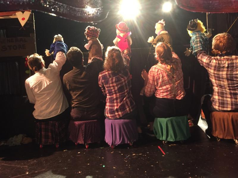 BWW Review: TREY PARKER'S CANNIBAL! THE MUSICAL presented by HalfMad Theatre at Capital Fringe
