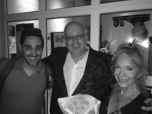 Adam Rothenberg (writer-Call Me Adam), DeVita, and Lane Bradbury Photo