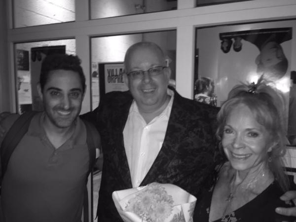 Adam Rothenberg (writer-Call Me Adam), DeVita, and Lane Bradbury