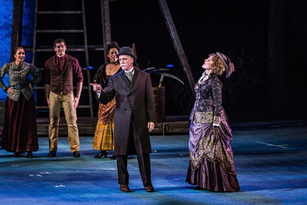 John Hickock, Patty Goble, and Molly Brown Cast