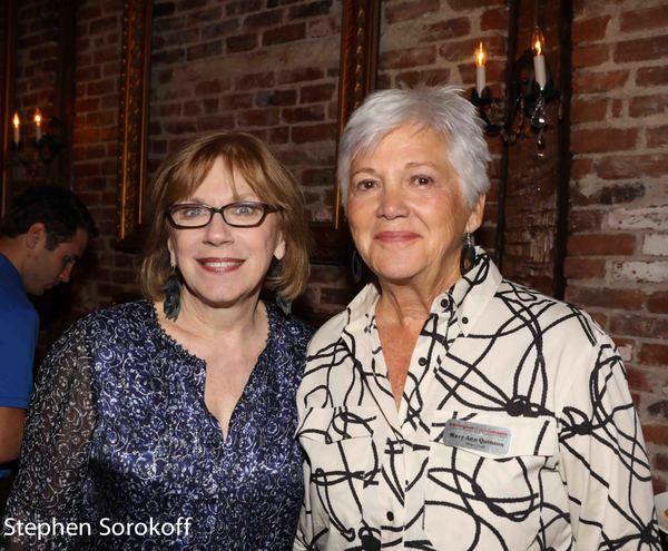 Julianne Boyd, Artistic Director & Mary Ann Quinson, Board Chair BSC