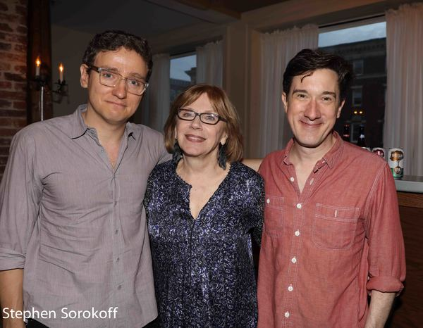 Sam Buntrock, , Julianne Boyd, Carson Elrod