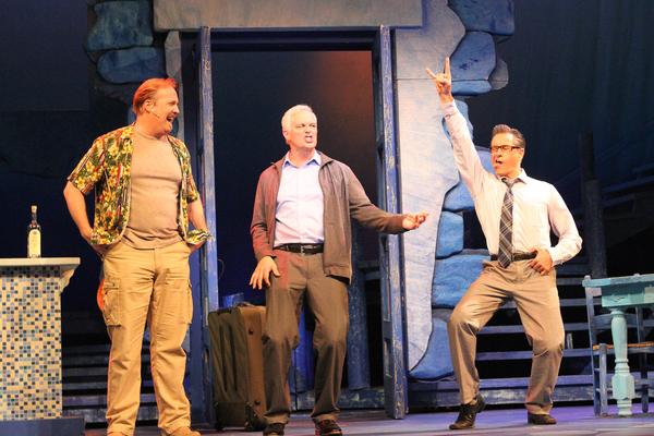 Fred Inkley, Patrick Cassidy, David Enge Photo