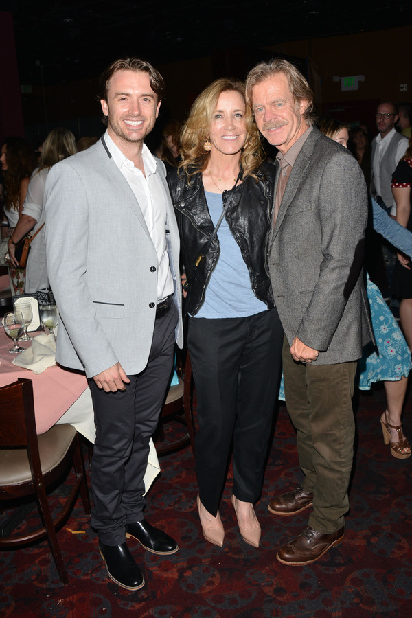 James Snyder, Felicity Huffman, and Bill Macy
