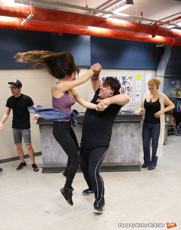 Photo Coverage: In Rehearsal for Graham Russell's A WORLD APART at NYMF!