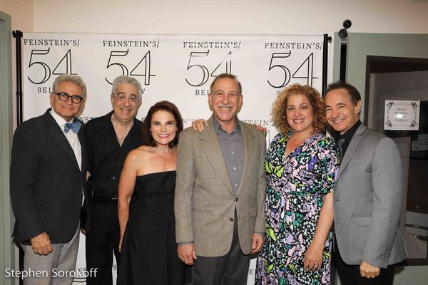 Paul Kreppel, David Evans, Tovah Feldshuh, Stephen Berger, Mary Testa, Jason Graae