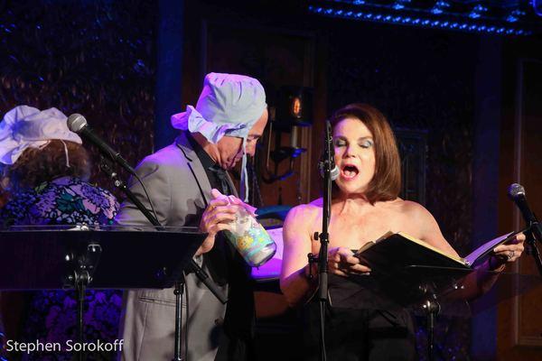 Jason Graae & Tovah Feldshuh Photo