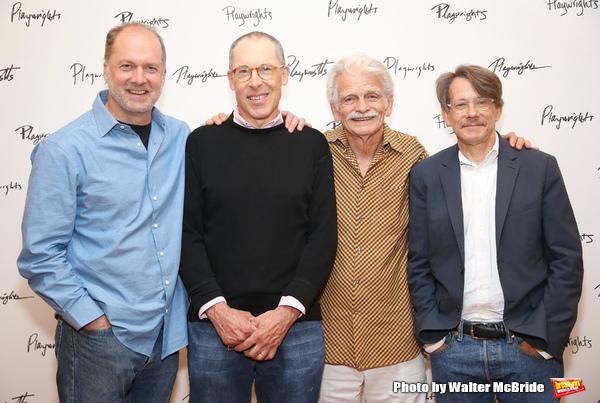 Daniel Jenkins, David Chandler, Ron Crawford and Keith Reddin