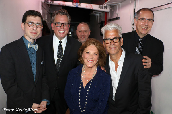 Aaron Weinstein, Billy Stritch, Ron Affif, Linda Lavin, Steve Bukanas and Tom Hubbard