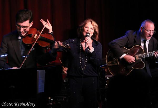 Aaron Weinstein, Linda Lavin and Ron Affif