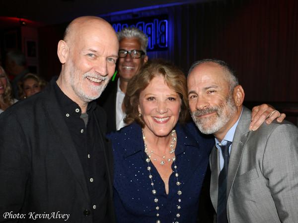 Bill Westmoreland, Linda Lavin and Bill Veloric