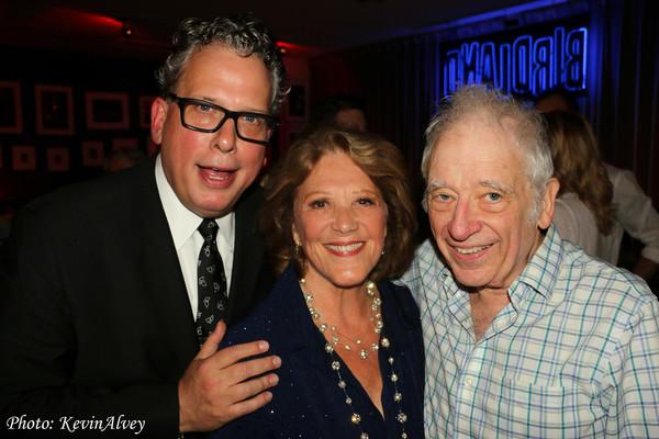 Billy Stritch, Linda Lavin and Austin Pendleton
