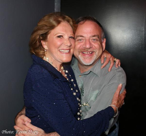 Linda Lavin and Marc Shaiman