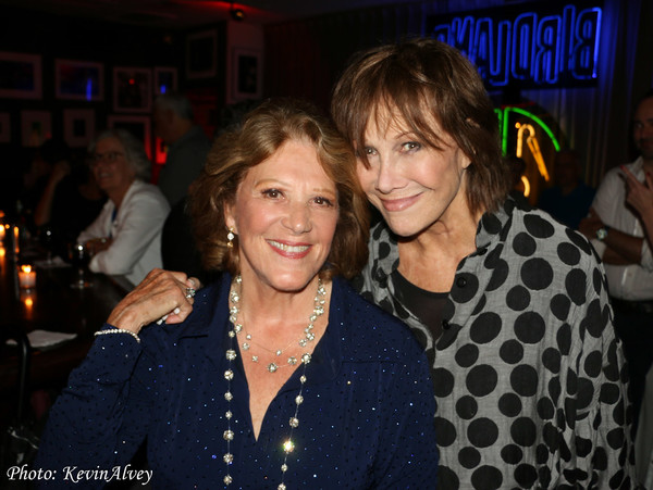 Linda Lavin and Michele Lee