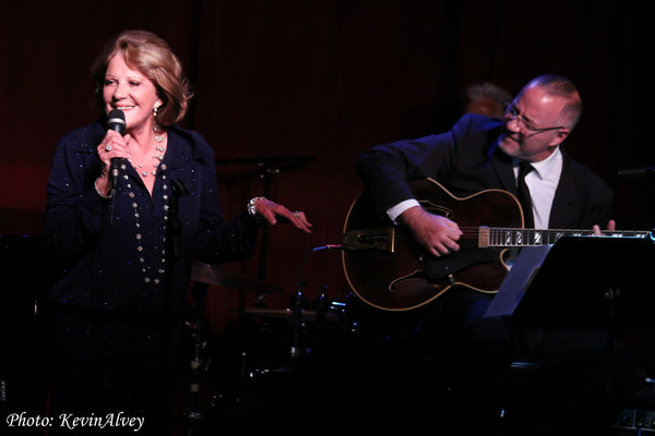 Linda Lavin and Ron Affif