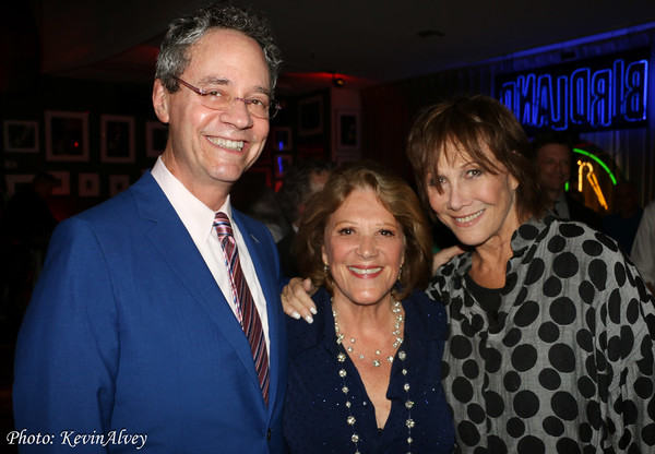 Mark Sendroff, Linda Lavin and Michele Lee