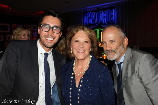 Ricardo, Linda Lavin and Bill Veloric Photo