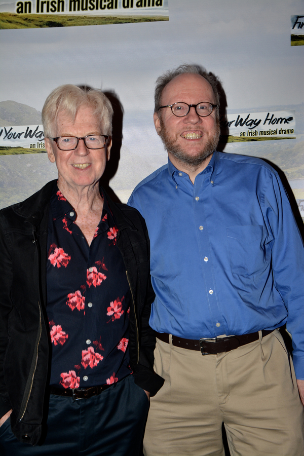 Larry Kirwan and Tom Marlow