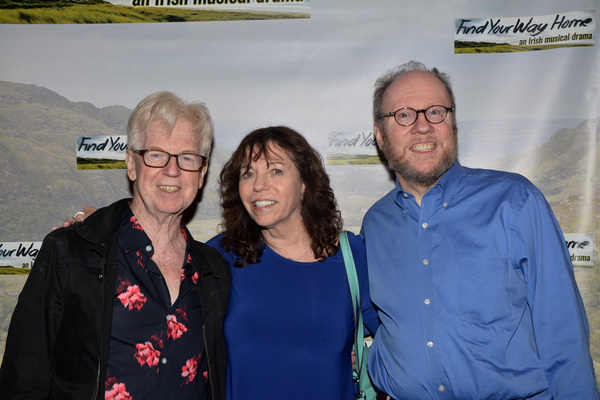 Larry Kirwan, Anita Daly and Tom Marlow