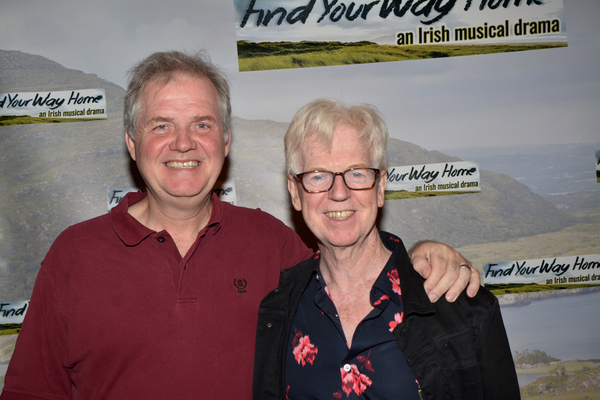 Ciaran O'Reilly and Larry Kirwan