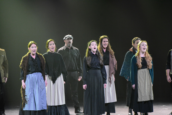 Alex Sharpe, Elaine O'Hara, Michael Hayes, Grace Collender, Sarah Gannon, Aileen Donohoe and Phoebe Dipple
