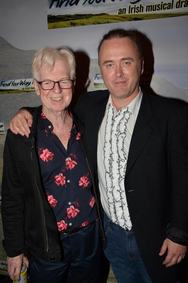 Larry Kirwan and Jimmy Kelly