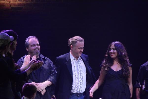 David Hayes, Jimmy Kelly and Denice Doyle