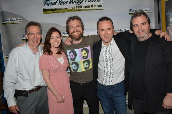 Jeff Strange, Alex Sharpe, Andrew Holden, Jimmy Kelly and David Hayes