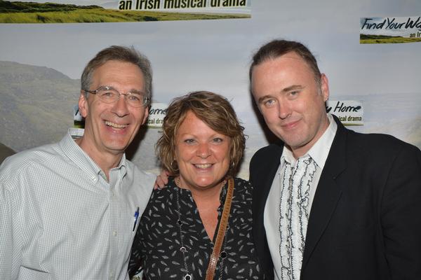 Jeff Strange, Eileen Ivers and Jimmy Kelly Photo