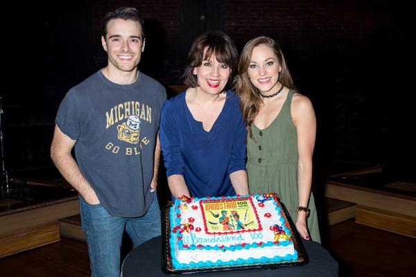 Corey Cott, Beth Leavel, Laura Osnes