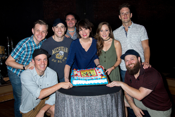James Nathan Hopkins, Geoff Packard, Corey Cott, Joey Pero, Beth Leavel, Laura Osnes, Joe Carroll, Brandon J. Ellis