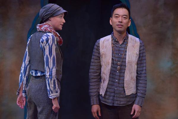 Julia Davis and Daisuke Tsuji Photo by Daniel G. Lam Photography